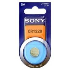 Blister 1 pila Sony CR1220 Litio ( 12.50 d . x 2 alt . (Espera 4 dias)