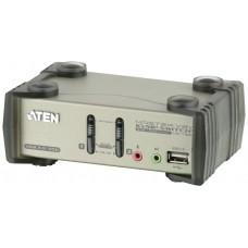 Aten CS1732B interruptor KVM Gris (Espera 4 dias)