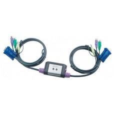 Aten CS62A cable para video, teclado y ratón (kvm) 1,2 m Multicolor (Espera 4 dias)