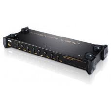 Aten CS9138 interruptor KVM Montaje en rack Negro (Espera 4 dias)