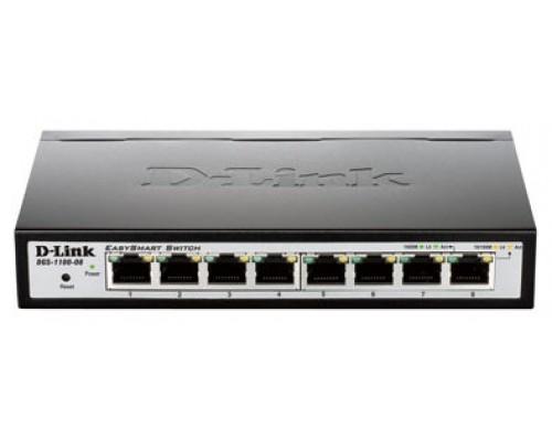 D-Link EasySmart Switch DGS-1100-08P - Conmutador -