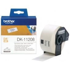 ETIQUETAS BROTHER DK11208 38-X90MM 400 ETIQUETAS