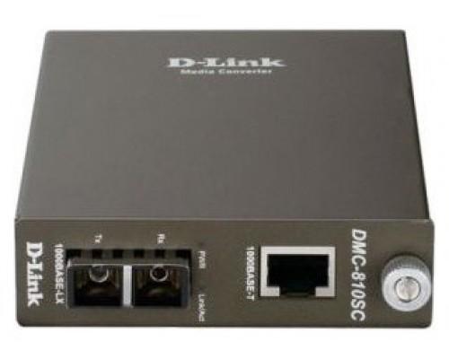 CONVERTIDOR DE MEDIOS D-LINK 1000 BASE-LX/BASE-T/RJ45
