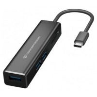 HUB 3.1 USB-C CONCEPTRONIC DONN08 3 PUERTOS USB 3.0
