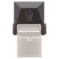 PEN DRIVE 64GB KINGSTON USB 3.0+MICROUSB NEGRO