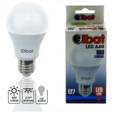 Bombilla LED A60 12W 980LM E27 Luz Blanca ELBAT (Espera 2 dias)
