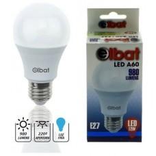 Bombilla LED A60 12W 980LM E27 Luz Fría ELBAT (Espera 2 dias)