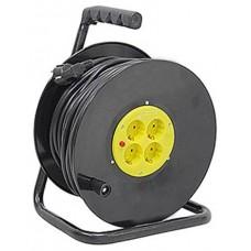 Enrollador de Cable 25 Metros Cable 3X1.5MM ELBAT (Espera 2 dias)