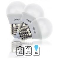 Pack 3 Bombillas LED G45 / 7W / 510LM / E27 / Luz Fría / ELBAT (Espera 2 dias)