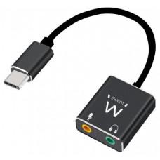 Ewent EC1645 tarjeta de audio USB (Espera 4 dias)
