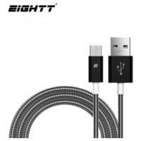 Eightt - Cable USB a MicroUSB 1.0M - Trenzado de Nylon