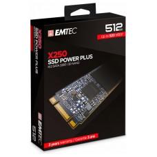 DISCO DURO M.2 512GB EMTEC POWER PLUS X250 (500MB/s
