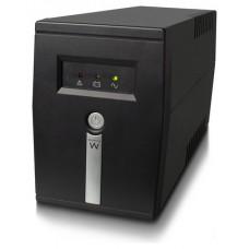 Ewent EW3947 sistema de alimentación ininterrumpida (UPS) Línea interactiva 800 VA 480 W 1 salidas AC (Espera 4 dias)