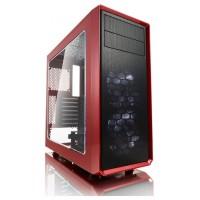 Fractal Design Focus G Midi Tower Negro, Rojo (Espera 4 dias)