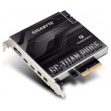 Gigabyte GC-TITAN RIDGE tarjeta y adaptador de interfaz DisplayPort,Mini DisplayPort,Thunderbolt 3 Interno (Espera 4 dias)