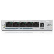 HUB SWITCH 5 PTOS ZYXEL 10/100/1000 GS1005-HP PLATA