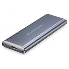 CAJA CONCEPTRONIC EXT. HDD M.2 USB-C 3.1 GRIS (Espera 4 dias)