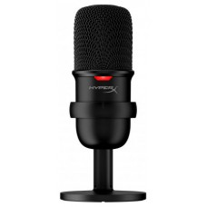 HyperX SoloCast Negro Micrófono de superficie para mesa (Espera 4 dias)