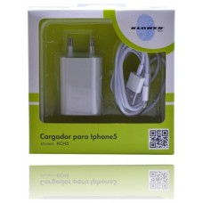 CARGADOR KL-TECH APPLE IPHONE LIGHTNING KCH5