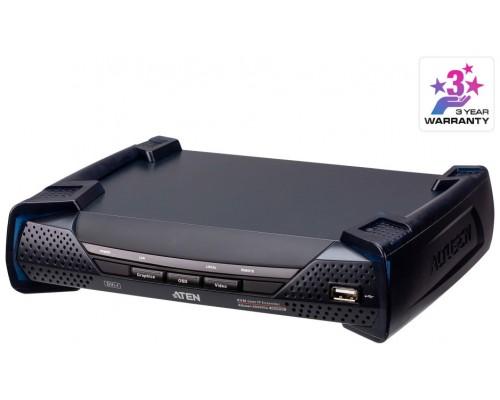 ATEN Receptor KVM por IP DVI-I single display USB (Espera 4 dias)