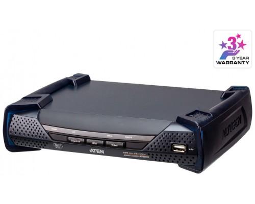 ATEN Receptor KVM por IP DVI-I dual display USB (Espera 4 dias)