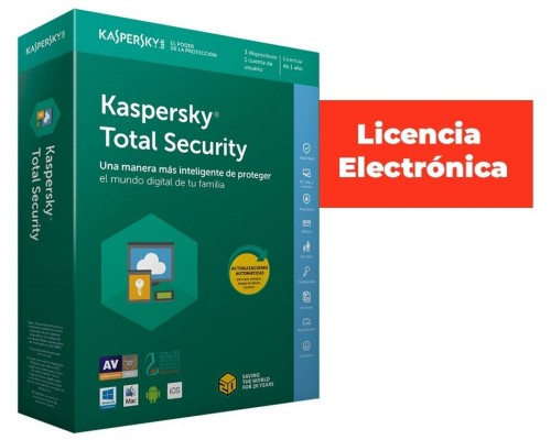 KASPERSKY TOTAL SECURITY - MULTI-DEVICE 3 DEVICE BASE