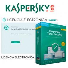 KASPERSKY TOTAL SECURITY 2020 5 Lic. Renovacion ELECTRONICA (Espera 4 dias)
