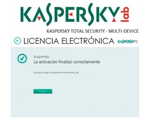 KASPERSKY TOTAL SECURITY - MULTI-DEVICE SPANISH