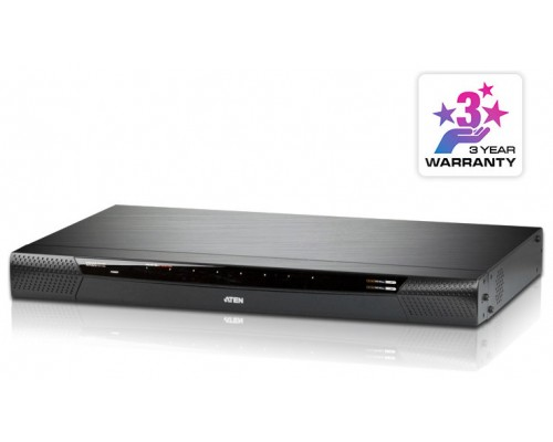 Aten KN1108V-AX-G interruptor KVM Montaje en rack Negro (Espera 4 dias)