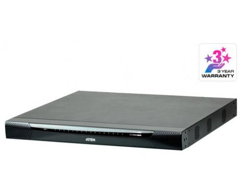 Aten KN1132V-AX-G interruptor KVM Montaje en rack Negro, Gris (Espera 4 dias)