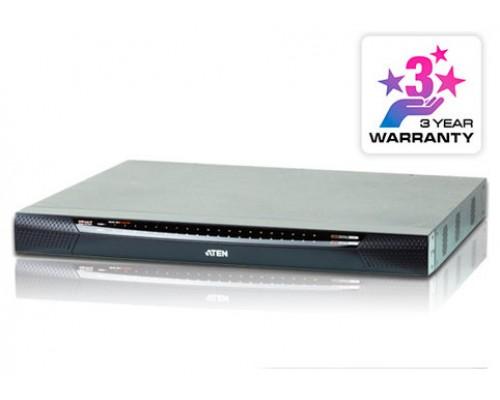 Aten KN2140VA-AX-G interruptor KVM Montaje en rack Negro, Gris (Espera 4 dias)
