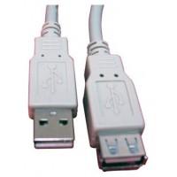 CABLE ALARGADOR USB 2.0 5 MTS LL-CAB-SB-1250 (Espera 5 dias)