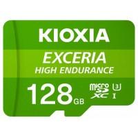 MICRO SD KIOXIA 128GB EXCERIA HIGH ENDURANCE UHS-I C10 R98 CON ADAPTADOR