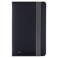 "Ziron LY019 funda para tablet 20,3 cm (8"") Folio Negro, Gris (Espera 4 dias)"