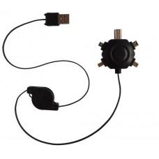 ADAPTADOR UNIVERSAL USB MM-AD-MM-1153 (Espera 5 dias)