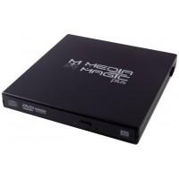 CAJA EXTERNA DVD PLASTICO NEGRO  MMP-110SB-U1 (Espera 3 dias)