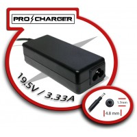 Carg. 19.5V/3.33A 4.8mm x 1.7mm 65W Pro Charger