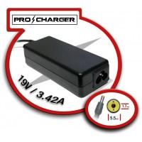 Carg. 19V/3.42A 5.5mm x 1.7 mm 65w Pro Charger (Espera 2 dias)