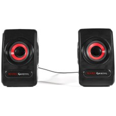 ALTAVOCES 2.0 MARS GAMING MRS0 10W RMS ULTRA BASS
