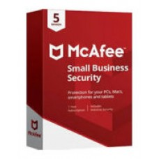 MCAFEE SMALL BUSINESS SECURITY   5 DISPOSITIVOS  1 ANO