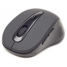 Gembird MUSWB2 Bluetooth 1600DPI Negro, Gris ratón
