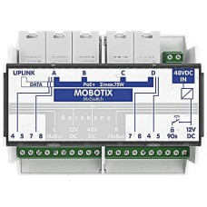 ACCESORIO MOBOTIX MXSWITCH FOR DIN RAIL MOUNTING