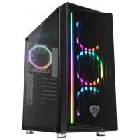 CAJA GAMING GENESIS IRID 400 ATX 2XUSB 3.0 2XUSB 2.0 S/F CRISTAL TEMPLADO RGB