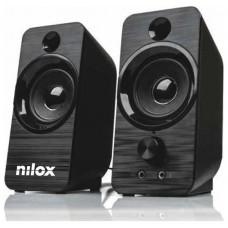 ALTAVOZ PC NILOX 6W NEGRO
