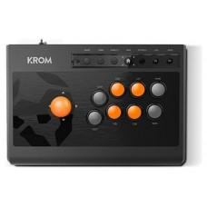 Krom Kumite Panel de mandos tipo máquina recreativa PlayStation 4,Playstation,Playstation 3,Xbox One Analógico/Digital USB Negro (Espera 4 dias)