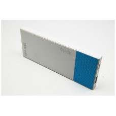QUICKMEDIA POWER BANK 3000 mAh. POLÍMERO AZUL