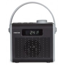 Altavoz Reloj Despertador Radio FM Bluetooth 4.2 R2-N Negro Fonestar (Espera 2 dias)