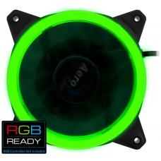 Aerocool Rev RGB Carcasa del ordenador Ventilador 12 cm Negro (Espera 4 dias)