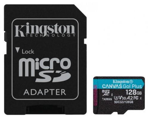 Kingston SDCG3/128GB microSD XC clase 10 128GB c/a