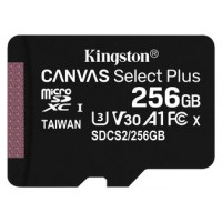 Kingston Technology Canvas Select Plus memoria flash 256 GB MicroSDXC UHS-I Clase 10 (Espera 4 dias)